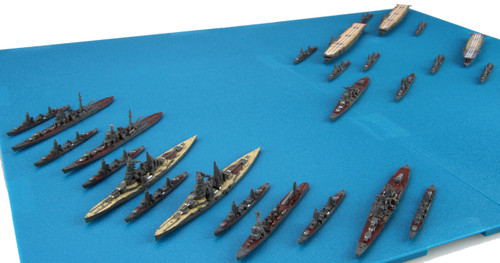 Fujimi Gunkan 16 Battle of the Santa Cruz Islands Set 1/3000 Scale kit