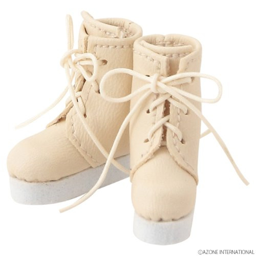Azone AKT090-MLK Pure Neemo Pukkuri Short Boots Milk