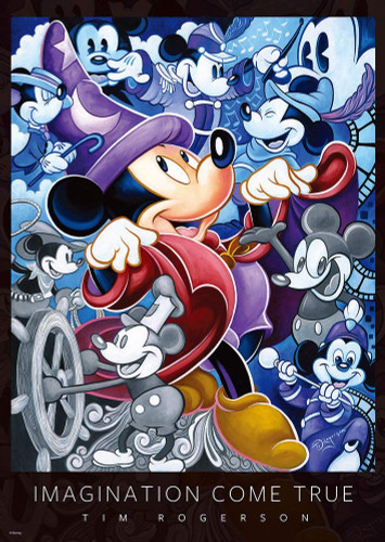 Tenyo Japan Jigsaw Puzzle D-300-006 Disney Mickey Imagination Come True (300 Pieces)