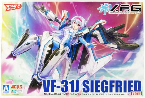 Aoshima 56875 ACKS MC-04 V.F.G. Macross Delta VF-31J Siegfried Ver.1.3 Non-scale