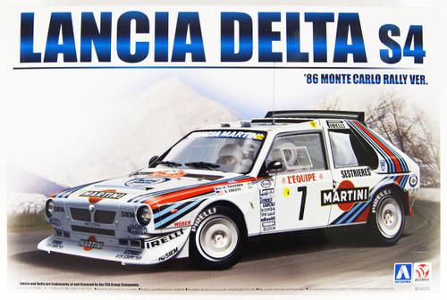 Aoshima 98851 Lancia Delta S4 1986 Monte Carlo Rally Ver. 1/24 scale kit