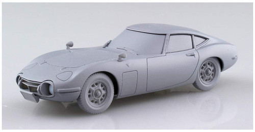 Aoshima 56288 Toyota Toyota 2000GT Solar Red 1/32 Scale Pre-painted Snap-fit Kit