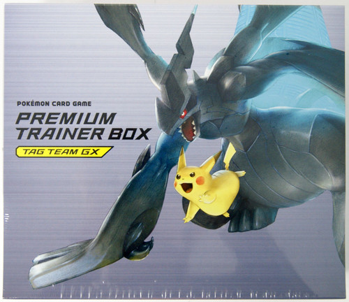 Pokemon Card Game SUN & MOON Premium Trainer Box TAG TEAM GX