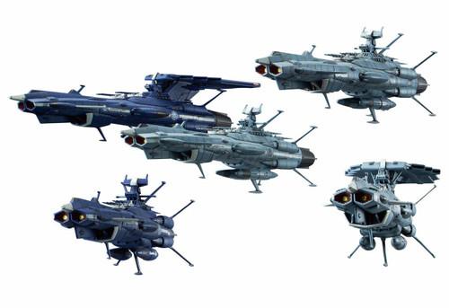 Bandai Mecha Collection Yamato 2202 U.N.C.F. Andromeda Class Set Non-Scale Kit