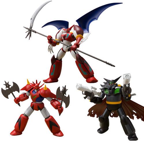 Bandai Candy 252313 Super Mini-Pla Getter Robo Armageddon Vol.2 1 Box 3 Pcs. Set