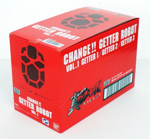 Bandai Candy 224488 Super Mini-Pla Getter Robo Armageddon Vol.1 1 Box 3 Pcs. Set