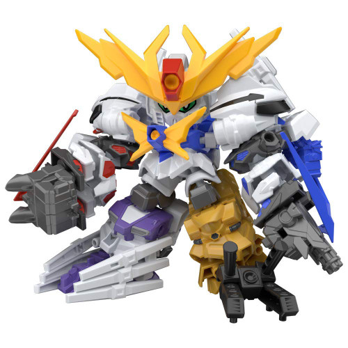 Bandai Candy 290636 Mini-Pla Gundam Build Divers Great Shock Gundam 1 BOX 10 Pcs. Set