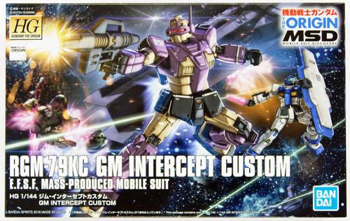 Bandai Gundam The Origin 023 RGM-79KC GM Intercept Custom 1/144 Scale Kit