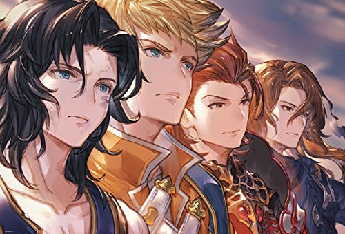 Beverly Jigsaw Puzzle 91-133 Granblue Fantasy Four Knights of a Fallen Land (1000 Pieces)