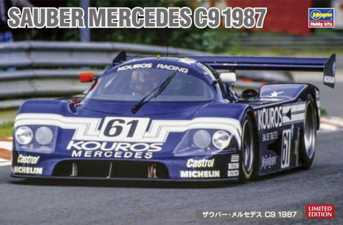 Hasegawa 20373 Sauber Mercedes C9 1987 1/24 Scale kit