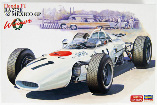 Hasegawa 20375 Honda F1 RA272E 1965 Mexico GP Winner 1/24 Scale kit