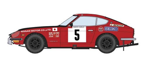 Hasegawa 20374 Datsun Fairlady 240Z 1972 Monte Carlo Rally 1/24 Scale kit