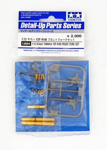 Tamiya 12684 Yamaha YZF-R1M Front Fork Set 1/12 Scale