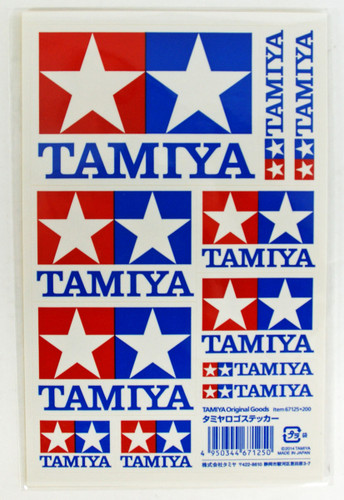 Tamiya AO-67125 Mini 4WD Tamiya Logo Sticker
