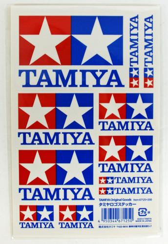 Tamiya AO-67125 Mini 4WD Tamiya Logo Sticker