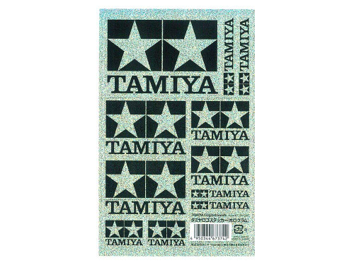 Tamiya AO-67374 Mini 4WD Hologram Tamiya Logo Sticker