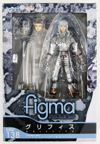 Good Smile figma 138 Griffith (Berserk Movie)