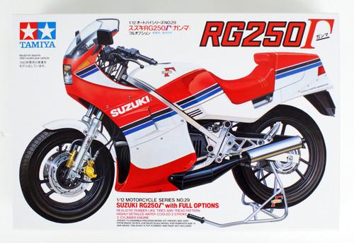 Tamiya 14029 Suzuki RG250 Gamma w/Full Options 1/12 Scale Kit
