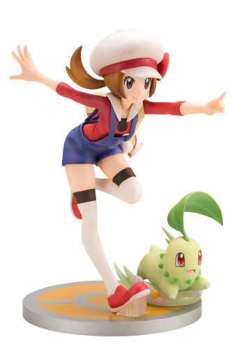 Kotobukiya ARTFX J PP758 Lyra with Chikorita 1/8 Scale Figure (Pokemon)