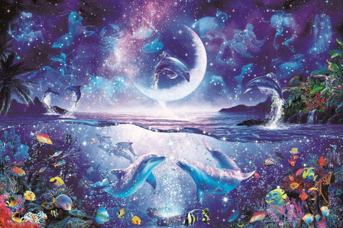Epoch Jigsaw Puzzle 13-026 Lassen Amazing Night (1000 Pieces)