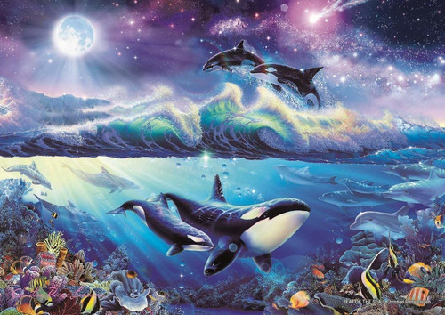 Epoch Jigsaw Puzzle 02-405 Lassen Beat of the Sea (108 Pieces)