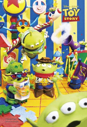 Yanoman Prism Art Jigsaw Petit Puzzle 97-197 Disney Toy Story Aliens (70 Pieces)