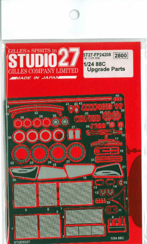 Studio27 ST27-FP24208 88C Grade Up Parts for Hasegawa 1/24 Scale
