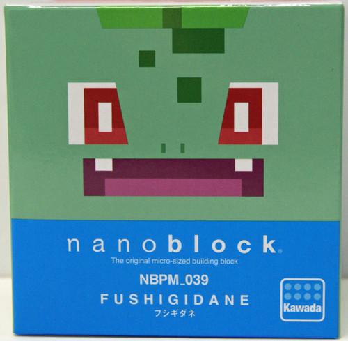 Kawada NBPM-039 nanoblock Pokemon Quest Bulbasaur (Fushigidane)