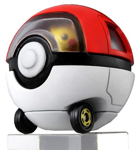 Takara Tomy Dream Tomica Ride On R10 Pikachu & Pokeball Car
