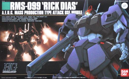 Bandai HGUC 010 Gundam RMS-099 RICK DIAS 1/144 Scale Kit