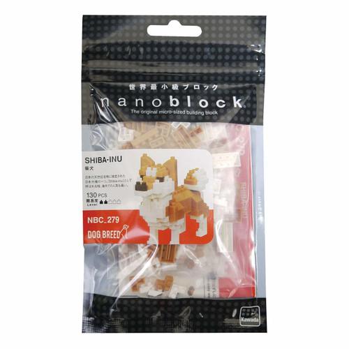 Kawada NBC-279 nanoblock Dog Breed Shiba Inu