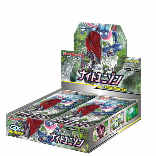 "Pokemon Card Game Sun & Moon Enhanced Booster Pack ""Night Unison"" 1 BOX"