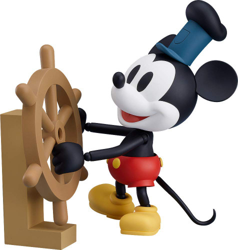 Good Smile Nendoroid 1010b Mickey Mouse: 1928 Ver. (Color) (Steamboat Willie)