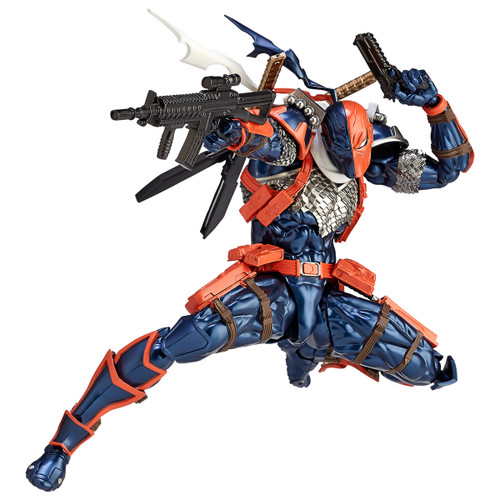 Kaiyodo Amazing Yamaguchi 011 Deathstrok Revoltech Figure