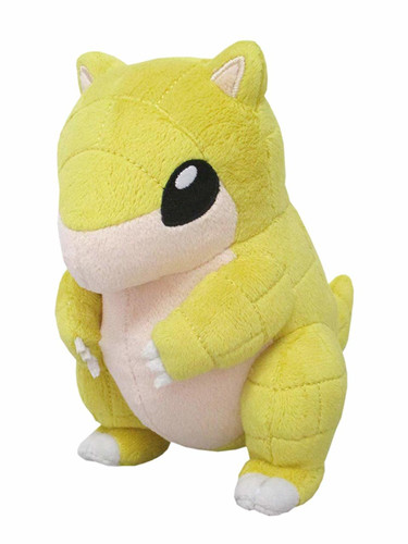 San-ei Pokemon ALL STAR COLLECTION 9 Plush Doll Sandshrew (S)