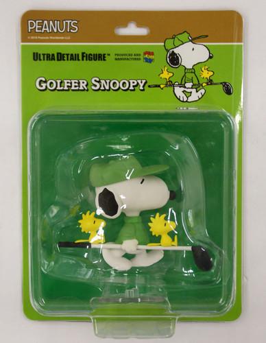 Medicom UDF-434 Ultra Detail Figure Peanuts Series 8 Golfer Snoopy