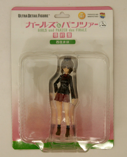 Medicom UDF-381 Ultra Detail Figure Girls und Panzer das Finale Maho Nishizumi 1/16 Scale