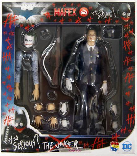 Medicom MAFEX 062 The Joker Cop Ver. Figure (The Dark Knight)