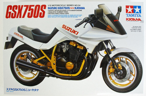 Tamiya 14034  Suzuki GSX750S New Katana Kit 1/12 Scale Kit