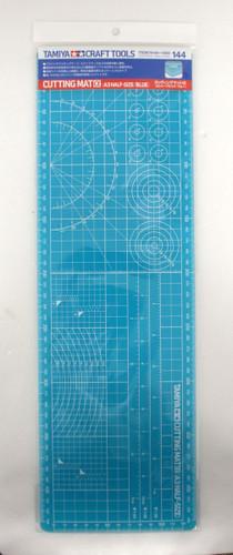 Tamiya 74144 Craft Tools Cutting Mat Alpha (A3 Half Size: Blue)