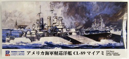 Pit-Road Skywave W-209 USN Light Cruiser CL-89 USS Miami 1/700 Scale kit