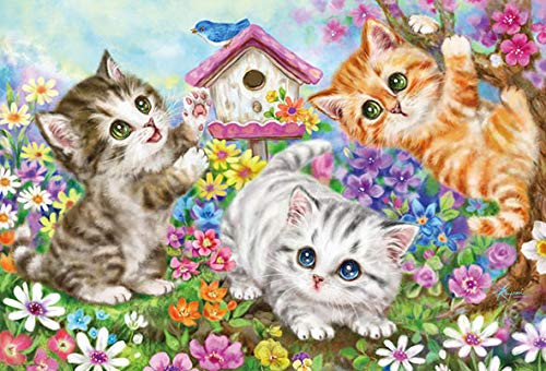 Beverly Jigsaw Puzzle 66-110 Naughty Kittens (600 Pieces)
