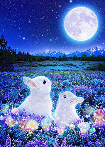Beverly Jigsaw Puzzle 66-109 Moon Rabbit (600 Pieces)