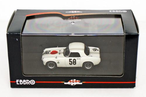 Ebbro 44250 Honda S800 Racing 1967 Nurburgring 1/43 Scale
