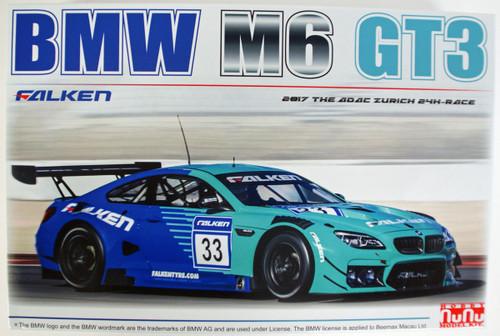 Platz PN24002 NuNu Racing Series BMW M6 GT3 2017 24 Hours Nurburgring 1/24 Scale Kit