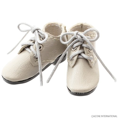 Azone AKT087-GRY 1/6 Pure Neemo S Mannish Shoes Light Gray