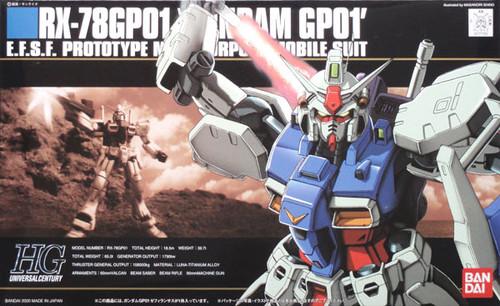 Bandai HGUC 013 Gundam RX-78GP01 GP01 1/144 Scale Kit