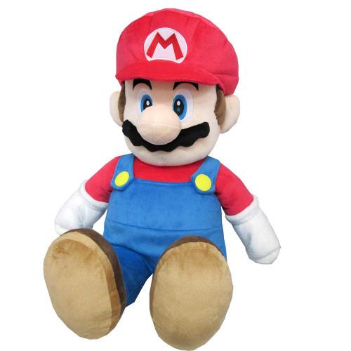 San-ei Plush Doll Super Mario All Star Collection 41 Plush Mario Large TJN