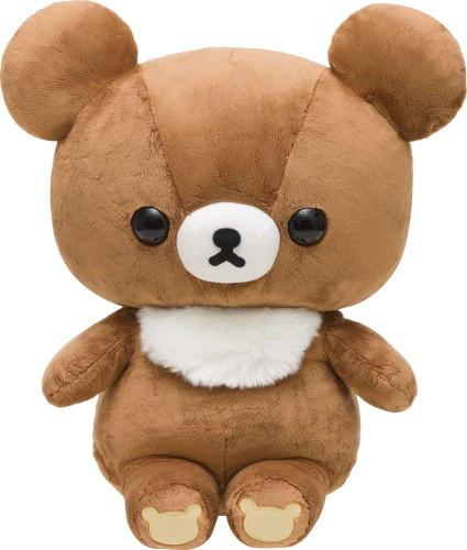 San-X Plush Doll Rilakkuma Chairokoguma (Brown Small Bear) Size L TJN