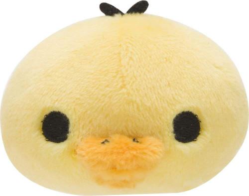 San-X Plush Doll Rilakkuma Puchi Mochi Pettan Kiiroitori (Yellow Bird) TJN